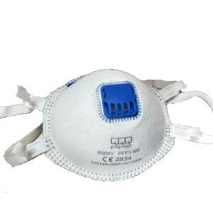 FFP3 hengityssuojain venttiilillä